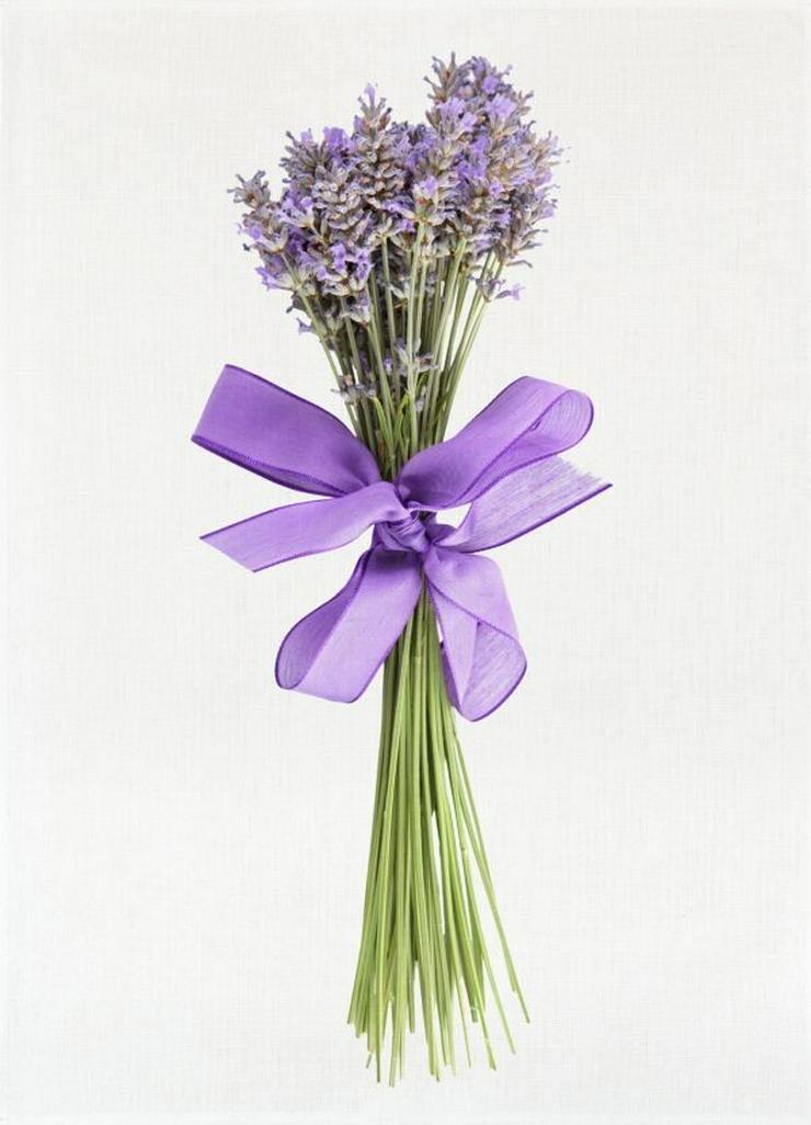 Kracht Geschirrtuch Digitalprint Lavendel