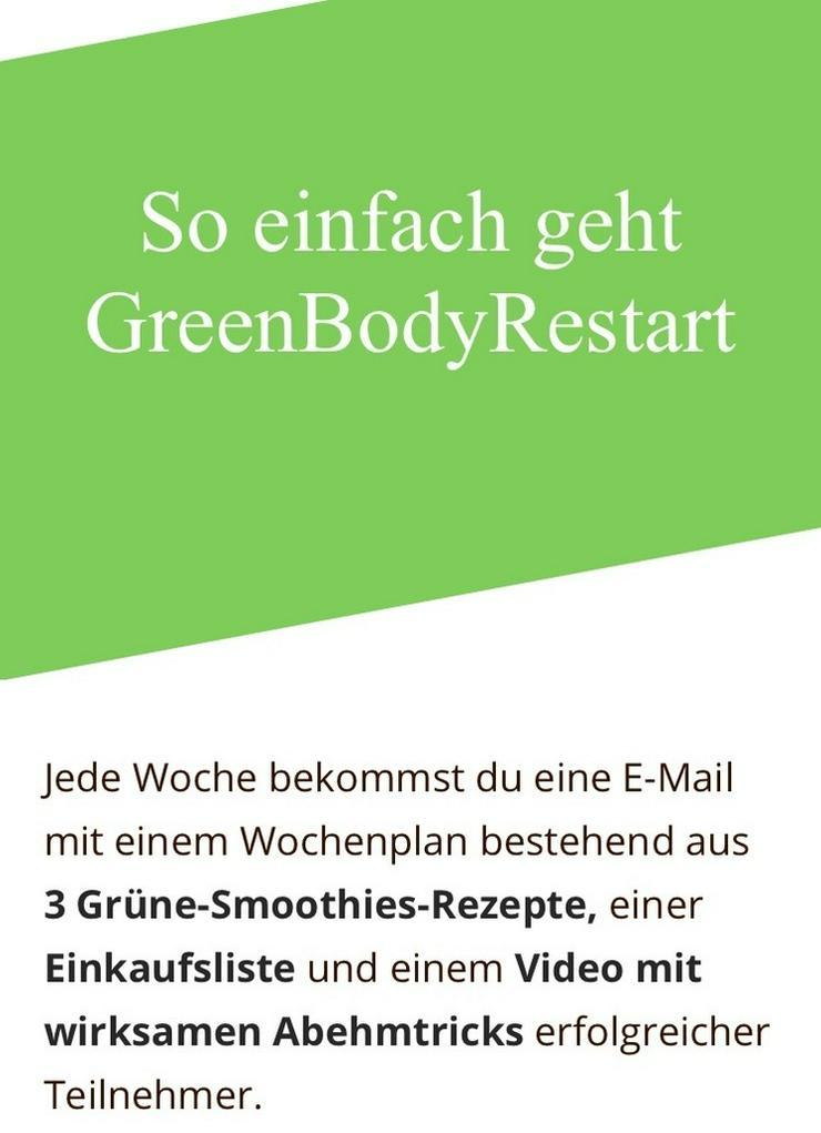 Grüne Smoothies Abnehmprogramm