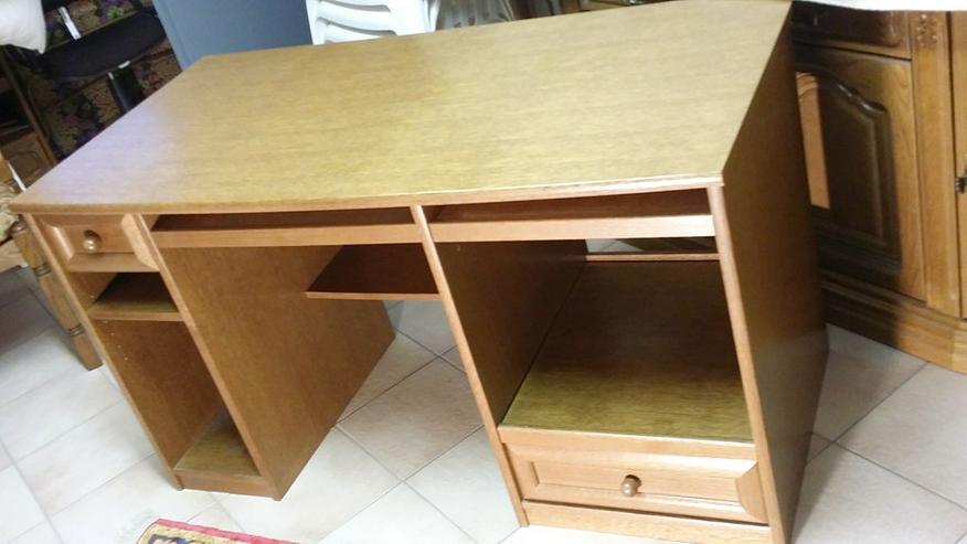 Bild 4: Sidebord & Schreibtisch aus Eiche rustikal