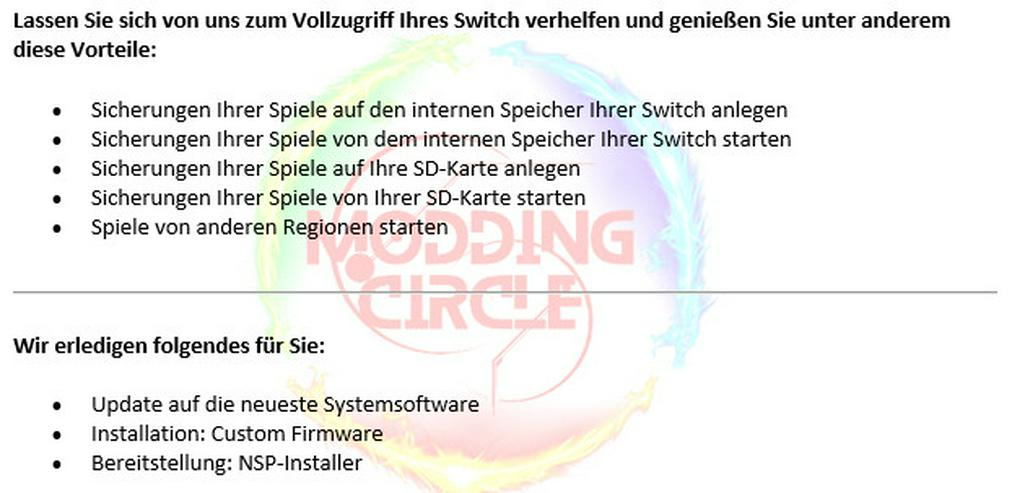 Bild 2: Switch CFW Homebrew Service