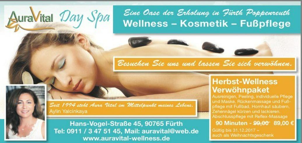 Wellness Gutschein Massage, Fusspflege, Kosmet
