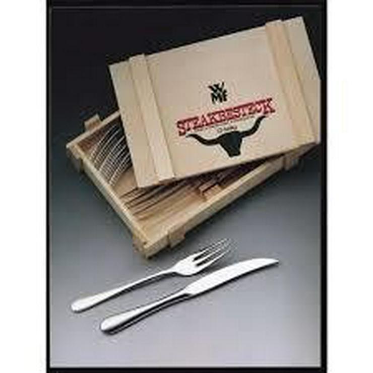 WMF Steakbesteck 12-teilig ? in Holzkiste - Bild 1