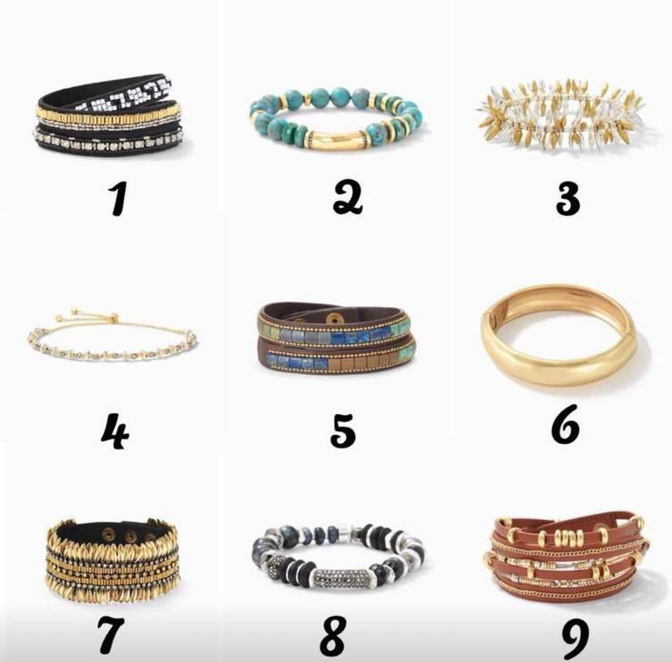 Stella & Dot, Armband, Ring, Schmuckparty