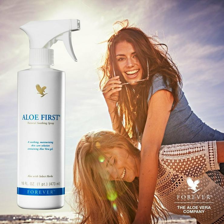 FOREVER Aloe First - die Erfrischung - Entspannung & Massage - Bild 1