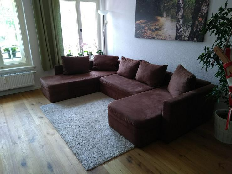 Couch Sofa Wohnlandschaft