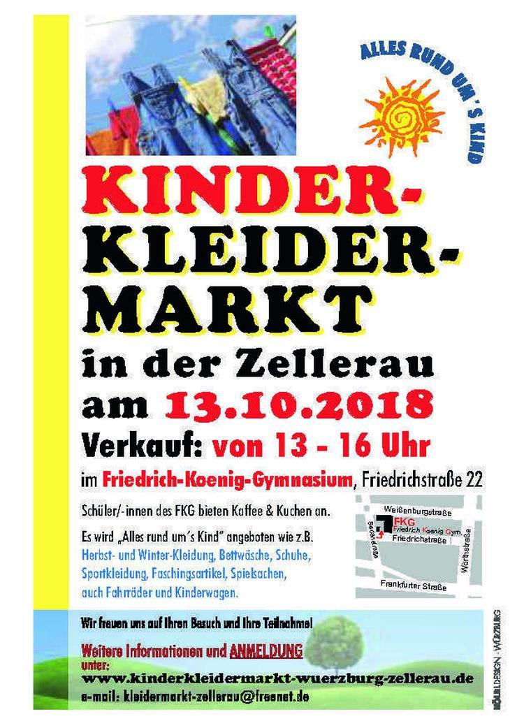 Kinderkleidermarkt in der Zellerau - Kleidung - Bild 1