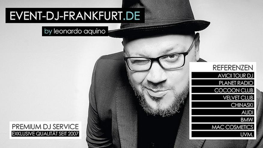 DJ in Frankfurt für Hochzeit, Event & Feste
