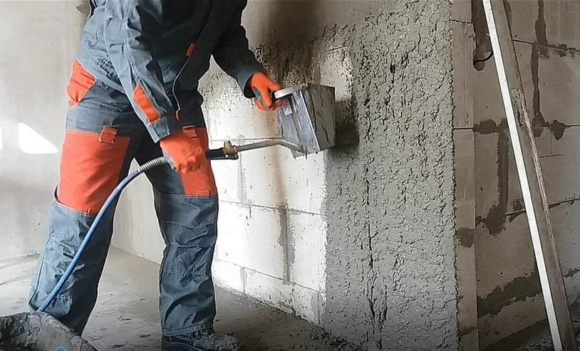 Bild 3: Trockenbauer Gerät Putzwerfer 3in1 Mörtel