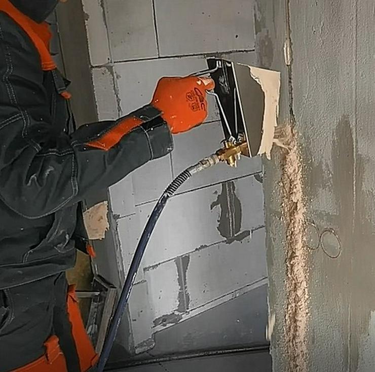 Bild 5: Trockenbauer Gerät Putzwerfer 3in1 Mörtel