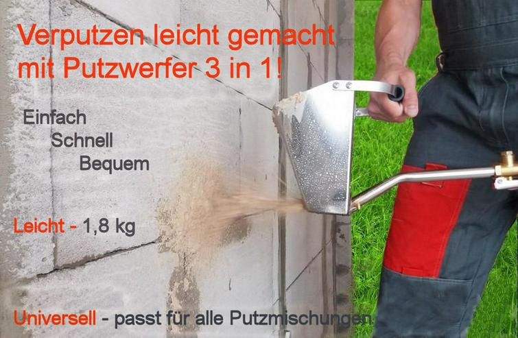 Trockenbauer Gerät Putzwerfer 3in1 Mörtel