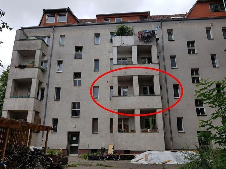 Bild 3: 2 x 1 Zimmerwohnung, Richardkiez, ruhig gelegen, Balkon, auf Wunsch bezugsfrei