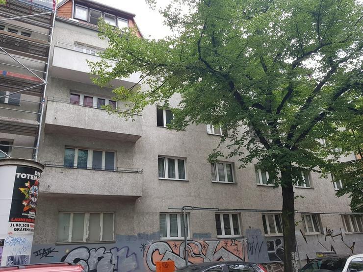 2 x 1 Zimmerwohnung, Richardkiez, ruhig gelegen, Balkon, auf Wunsch bezugsfrei - Bild 1