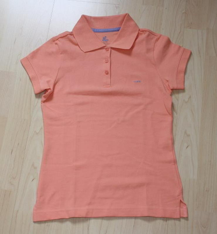 Mädchen Poloshirt Kinder Polohemd rosa 152/158 - Größen 146-158 - Bild 1