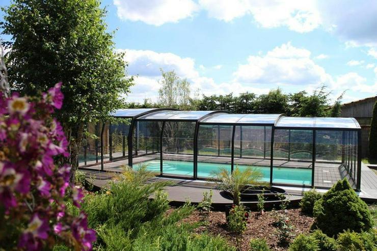Bild 6: Schiebeüberdachung zu Schwimmbecken aus Polen