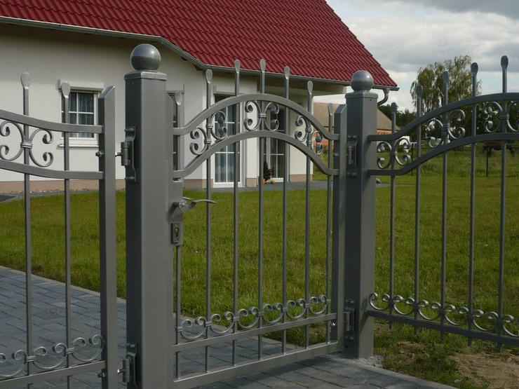 Bild 3: Zäune aus Metall - aus Polen - Schmiedezaun