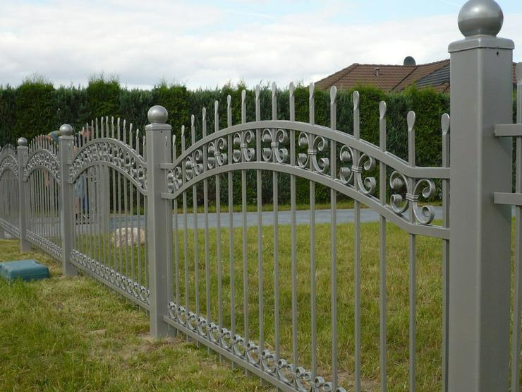 Bild 4: Zäune aus Metall - aus Polen - Schmiedezaun