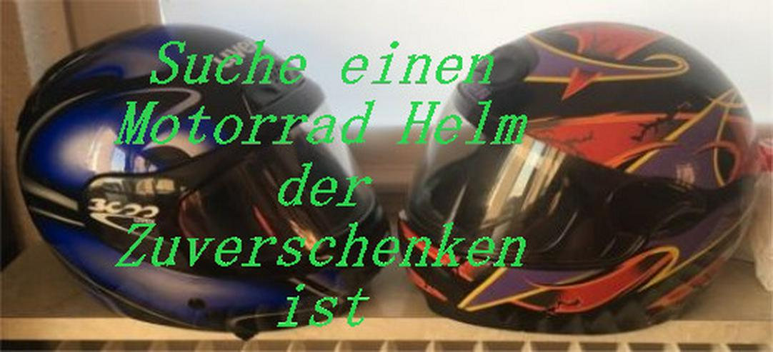 Gebrauchten Motorrad Helm zuverschenken