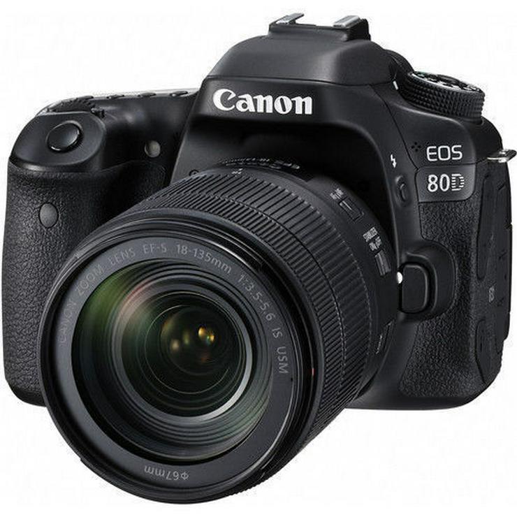 Kamera Digital SLR Canon EOS 80D + 18-135mm
