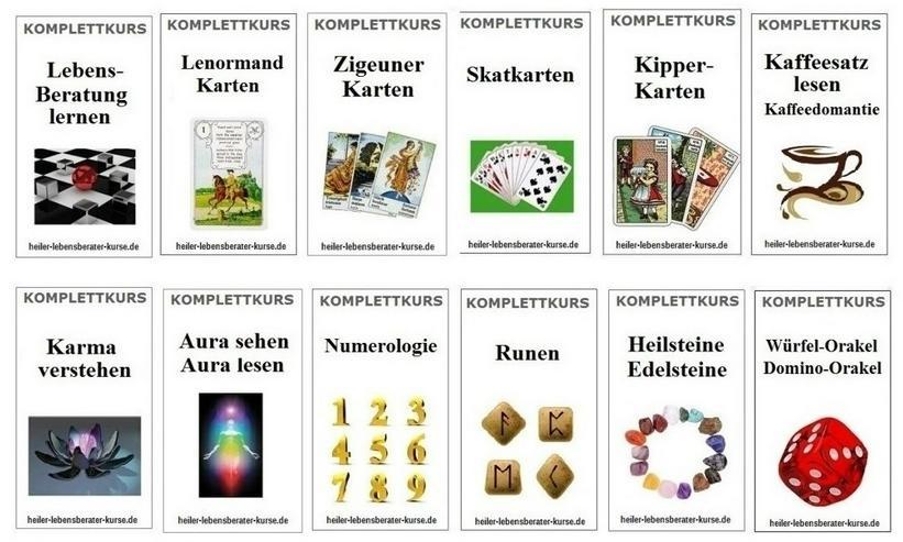 Lebensberater Kurse zum Selbststudium - Kartenlegen lernen