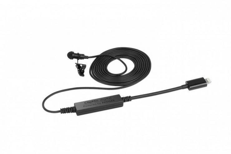 Sennheiser 506791 Digital ClipMic, schwarz