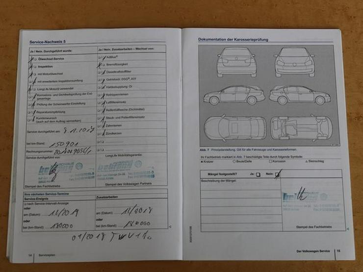 Bild 21: VW Passat 2.0 TDI EURO 6-DSG-BMT-NAVI-RF KAM-1.HAND
