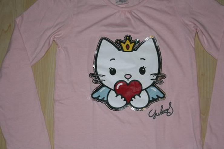 Bild 2: Angel Cat Sugar Pullover Sweatshirt rosa 140