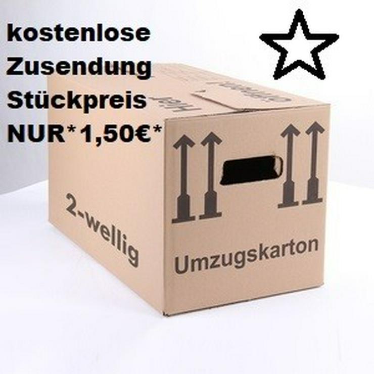 30 x neue Profi-Umzugskartons - 40 kg Tragkraft
