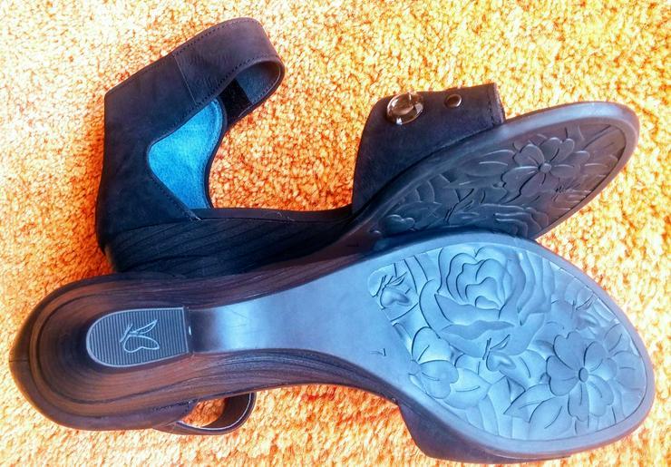 Bild 4: NEU Damen Schuhe Leder Glitzer Gr.40,5 Caprice