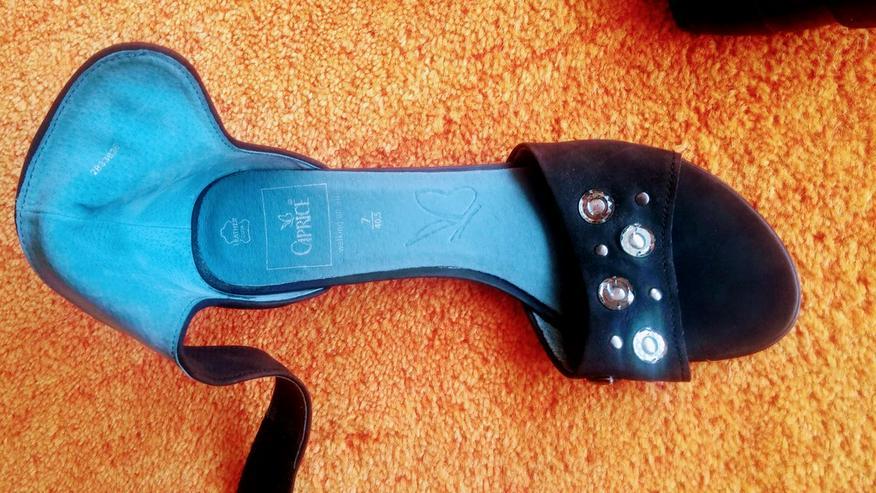 Bild 6: NEU Damen Schuhe Leder Glitzer Gr.40,5 Caprice