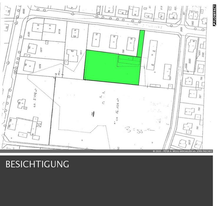 Bebauung für 3 Vollgeschosse mit bis zu 30 Wohneinheiten auf herrlichem ca. 4.200m² Grun...