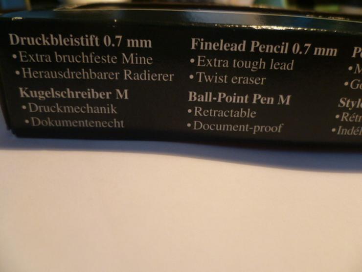 Bild 5: Edel Druckbleistift Kugelschreiber
