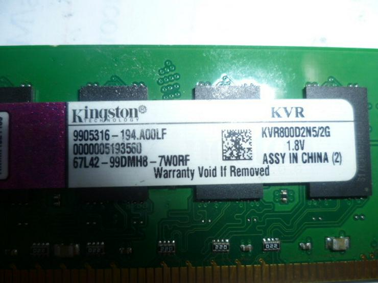Kingston Ram 2GB  KVR