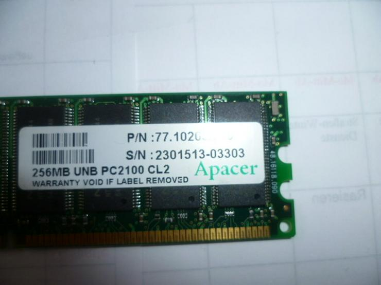 Bild 2: 256 MB UNB PC 2100 CL2 Apacer