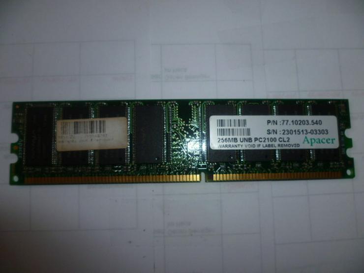 Bild 4: 256 MB UNB PC 2100 CL2 Apacer