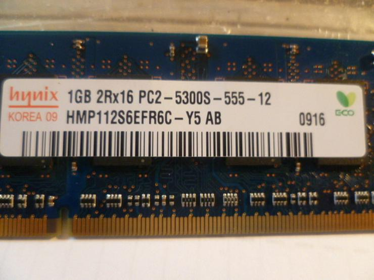 1 GB Ram sehr selten benutzt wie neu