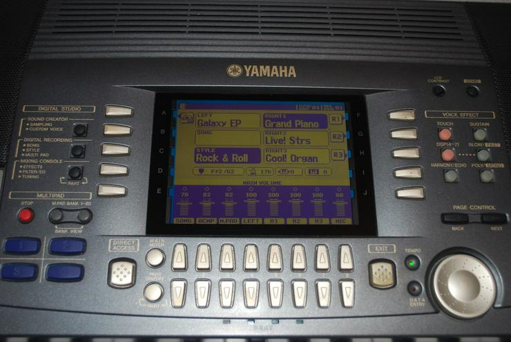 Bild 3: Yamaha PSR 9000