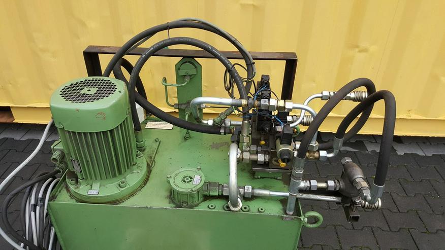 Bild 2: Hydraulikagregat schwere Ausführung