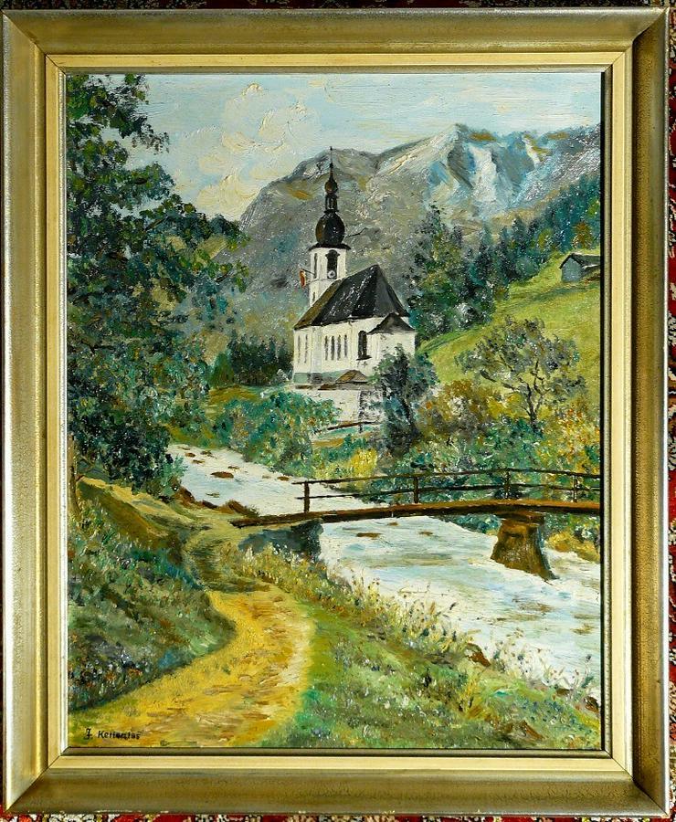 Gemälde Ölgemälde St. Sebastian Ramsau (B048)