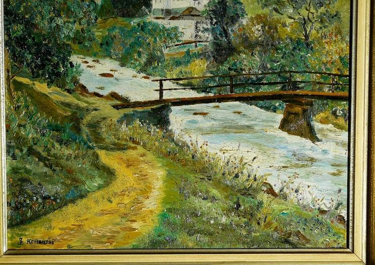 Bild 3: Gemälde Ölgemälde St. Sebastian Ramsau (B048)