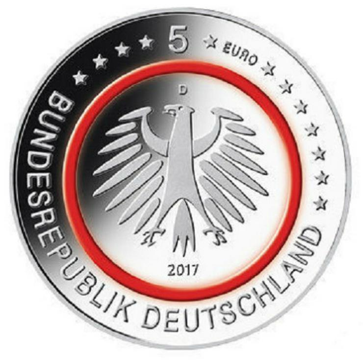 Bild 2: 5x5 Euro Münzen Tropische Zone 2017 D,F und G