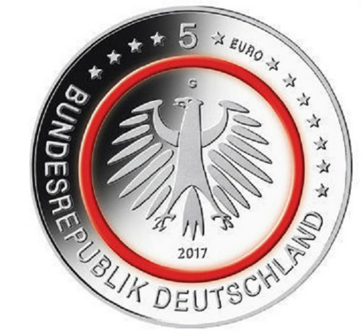 Bild 4: 5x5 Euro Münzen Tropische Zone 2017 D,F und G