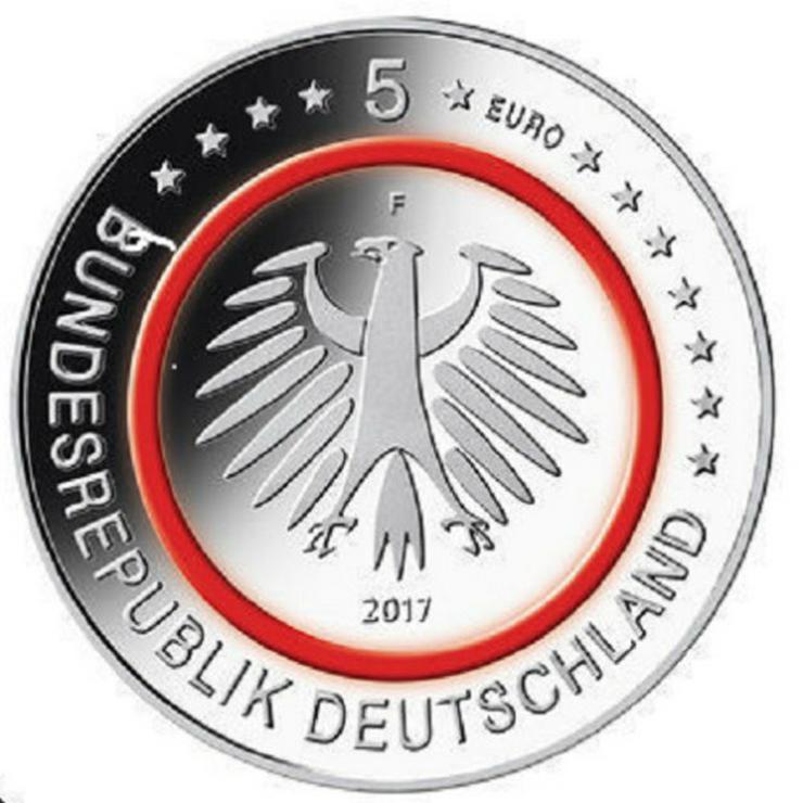 Bild 3: 5x5 Euro Münzen Tropische Zone 2017 F und G