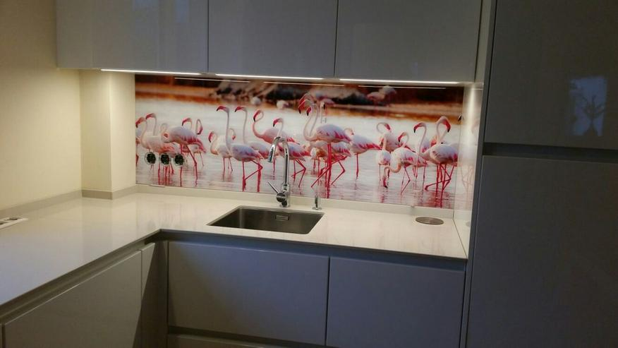Bild 2: Küchenrückwand / Spritzschutz aus Glas bedruckt