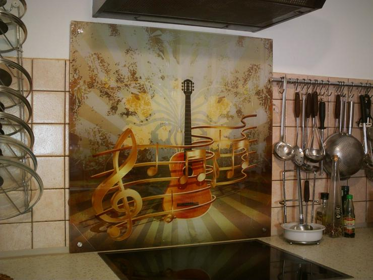 Bild 6: Küchenrückwand / Spritzschutz aus Glas bedruckt