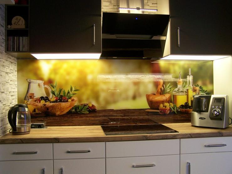 Bild 3: Küchenrückwand / Spritzschutz aus Glas bedruckt
