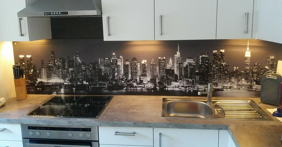 Küchenrückwand / Spritzschutz aus Glas bedruckt in Undeloh ...