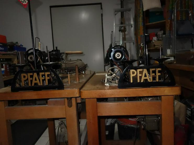Bild 3: 2 Pfaff Nähmaschine, BJ 1955 - 1959
