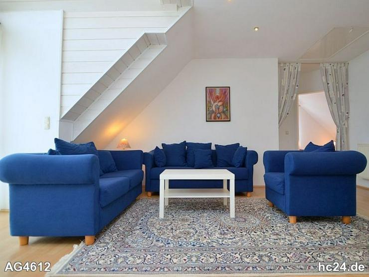 Möblierte große 2-Zimmer-Dachgeschosswohnung mit Balkon und WLAN in Fürth - Wohnen auf Zeit - Bild 1