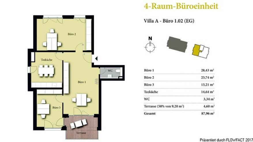 Bild 3: Borngrund Villen - Moderne 2-Raum-Büro/-Praxiseinheit in verkehrsgünstiger Lage