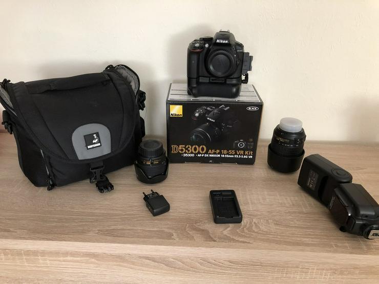 Nikon DLSR D5300 mit viel zubehör